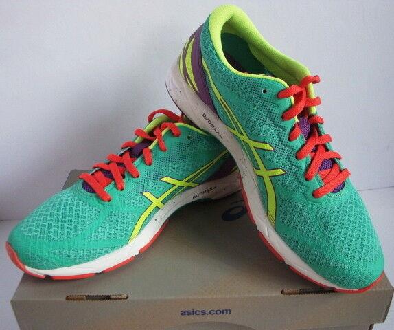 Asics GEL-DS Racer 10 Running shoes Green Yellow Purple Women's New 10.5 M
