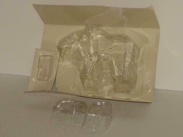 G1 TRANSFORMER HEADMASTER WEIRDWOLF FULL BUBBLE INSERT ORIGINAL 1987 RELEASE