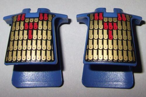 blassblau Rüstung 2x Kragen Überwurf bedruckt 04521