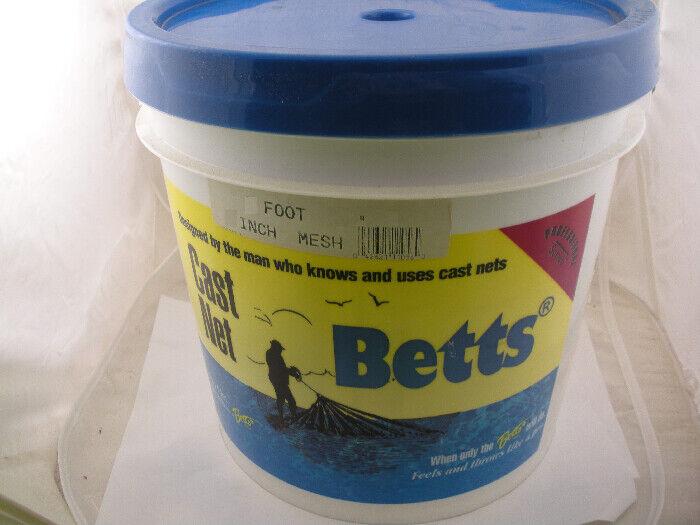 Betts 189 pro Mullet Ghisa Rete 1  Tela 2,7 M 12950