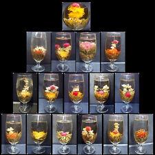 16 Handgefertigter Blooming Tea Teeblume Blumentee,CHINA Flowering Stück Tee thé