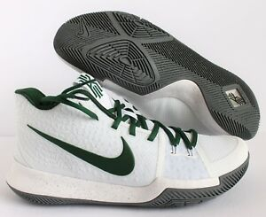 brand new 280d2 9f9b0 Image is loading NIKE-KYRIE-3-ID-WHITE-GREEN-SZ-10-