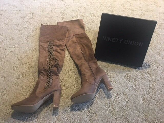 Ninety Union Thigh High Boots