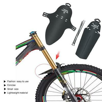 Mountain Bike Bicycle Cycling Front//Rear Mudguards Fender Set JNWUS