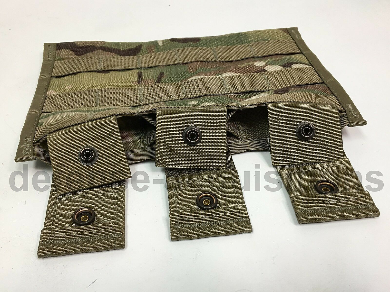SET OF TWO US Military three MAG POUCH  MOLLE ACU 3 X 30 ROUND SIDE BY SIDE NIP