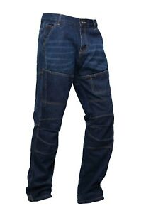 Mens-motorbike-motorcycle-Denim-Trouser-jeans-with-protective-lining-039-LUCA-039-GBG