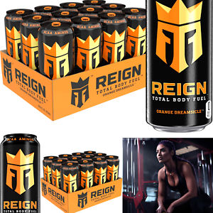 Reign Total Body Fuel, Orange Dreamsicle, Fitness & Performance Drink, 16 Fl ...
