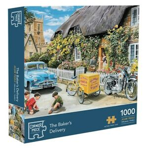 Baker's Delivery 1000 Piece Jigsaw Puzzle, Toys & Games, Brand New