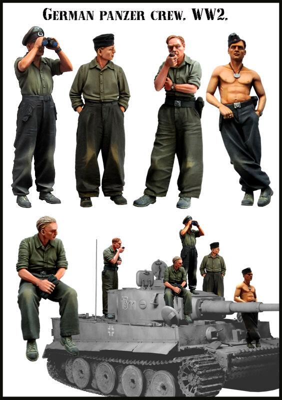 2 Figures German WSS Schwimmwagen Crew Evolution Miniatures 35053 SCALE 1:35