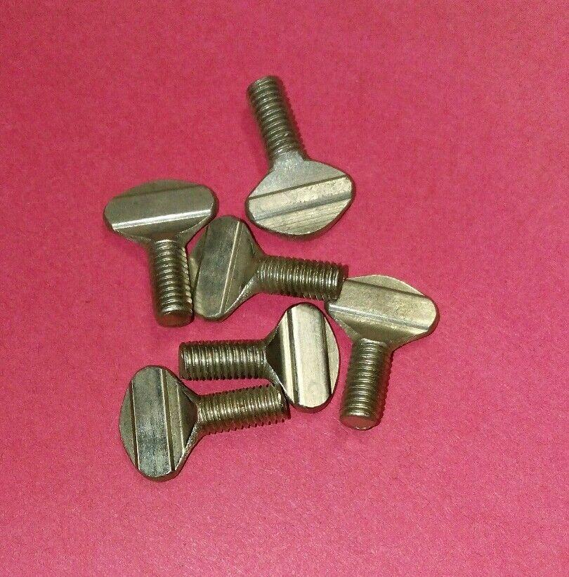 6 Team Associated 7773 6-32x3//8in BHCS Button Head Cap Screws