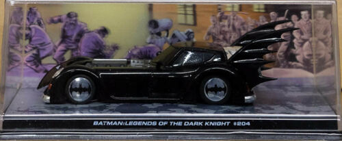 Batmobile BATMAN Legends of the Dark Knight #204 EAGLEMOSS 1:43 IXO ALTAYA