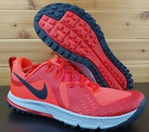 Nike-Air-Zoom-Wildhorse-5-Crimson-Men-039-s-size-15-Trail-Running-Shoes-AQ2222-600