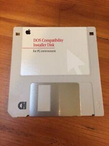 Vintage-1995-Mac-Macintosh-DOS-Compatibility-Software-Installation-Floppy-Disk