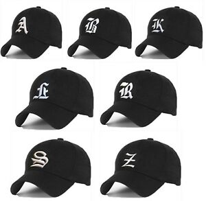 Boy Girl Baseball Cap Kids Gothic Letter A Adjustable Children Snapback Hat LA