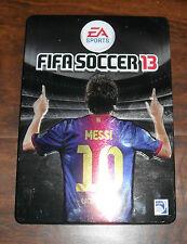 FIFA Soccer 13 With Steelbook Case! (Microsoft Xbox 360, 2012)