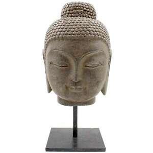 Shakyamuni-Buddha-Stein-Kopf-40cm-Naturstein-Siddharta-Statue-AsienLifeStyle