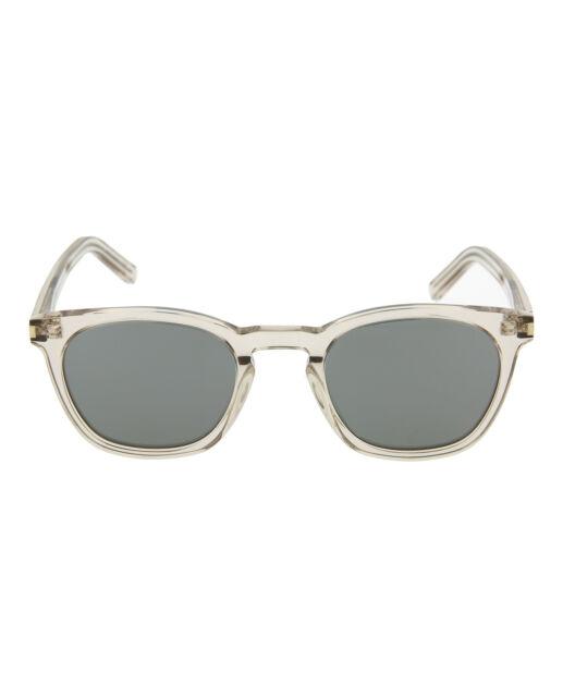 Saint Laurent Unisex-Adult Round//Oval Sunglasses SL28F-30000082-013