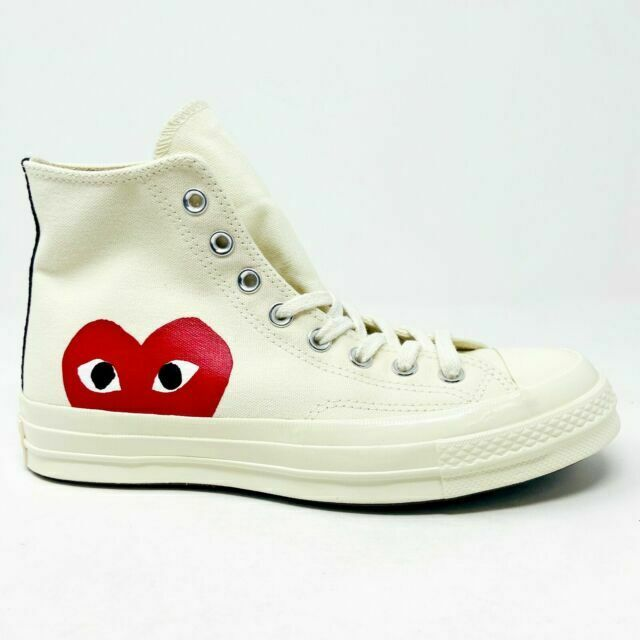 Size 10 - Converse Chuck Taylor All Star High x Comme des Garcons ...