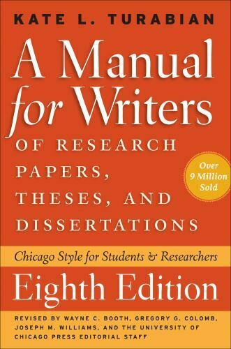Chicago Guides To Writing, Editing, And Publishing Ser. A Manual For Writers Of - $4.90