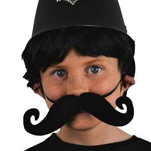éNergique Extra Large Robe Fantaisie Moustache. Extensible élastique Ajustés. Personnage Accessoire-afficher Le Titre D'origine Nombreux Dans La VariéTé