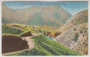 Kanada Postkarte - Szenerie Von Britisch Columbia Kanada Der Cariboo Highway