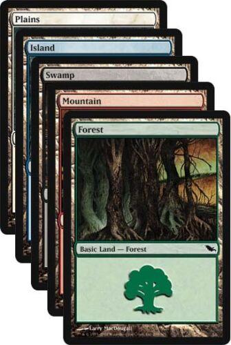 500 Shadowmoor Basic Land Bulk Lot MTG Magic Cards