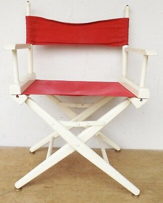 Antique Furniture Other Reproduction Furniture Old Theatre/folding Chair/director's Chair 60/70er Vintage Rockabilly No 2