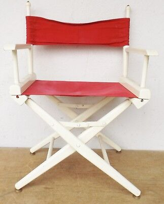2 Other Reproduction Furniture Old Theatre/folding Chair/director's Chair 60/70er Vintage Rockabilly No