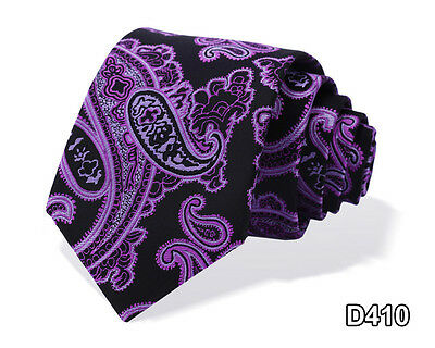 "Check Floral 2.75"" Silk Jacquard Slim Skinny Narrow Men Tie Necktie #D4-1"