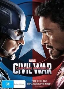 CAPTAIN-AMERICA-CIVIL-WAR-DVD-MARVEL-NEW-amp-SEALED-FREE-POSTAGE-REGION-4