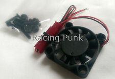 Negro del disipador de calor refrigeración Cooler Ventilador del Motor para Coche Modelo Rc Buggy 25mm X 25mm