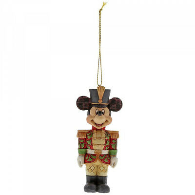 Disney Traditions A29381 Christmas Mickey Mouse Nutcracker Hanging Ornament