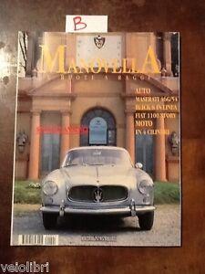 LA MANOVELLA Gennaio Febbraio 1996 - Maserati A6G/54, Ferrari 330 GT 2+2
