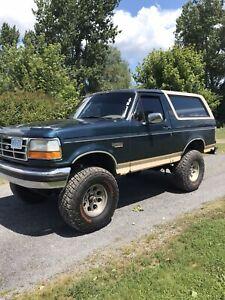 1995 Ford Bronco Eddie Bauer!!!