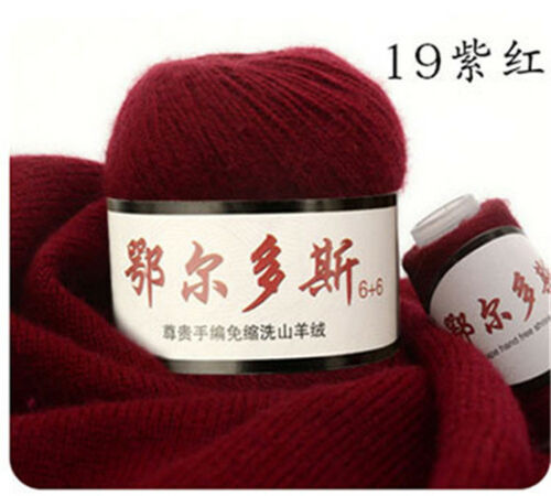 50+20G High Quality Cashmere Woolen Yarn  for Hand Knitting  Winter Sweater Hat