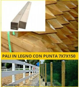 Wooden-pole-square-with-to-Punta-fence-posts-square-fence-stake