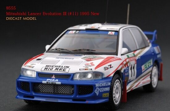 HPI Mitsubishi Lancer Evo III () 1995 New Zealand Rally 1 43 model