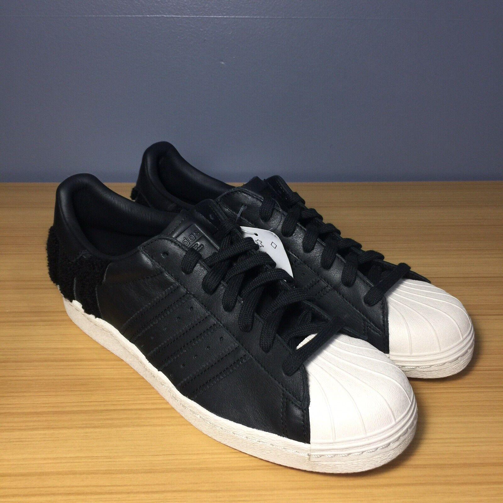 Adidas Originals Superstar  80 Core nero bianca AQ08883, Men's 10.5 D  vendita di fama mondiale online