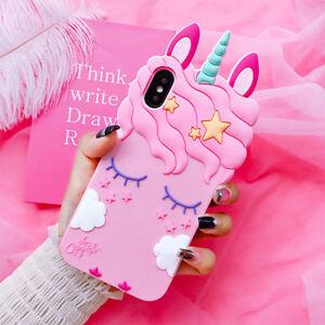 3D Cute Unicorn Case For Iphone X