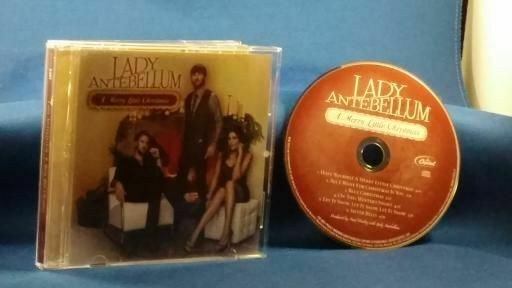 LADY ANTEBELLUM A Merry Little Christmas CD Blue Christmas Silver Bells | eBay