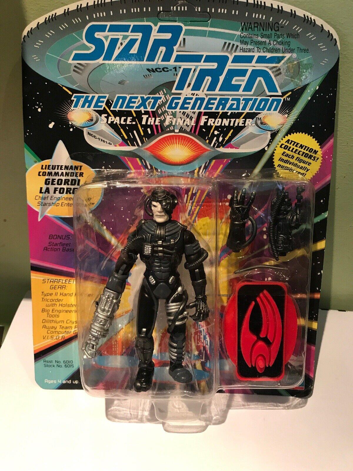 STAR TREK prossima generazione Figura errore cardate Borg geordi la compagni di gioco 1992