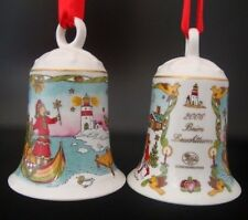 Hutschenreuther Weihnachtsglocke Porzellanglocke Glocke 2006 Ohne Verpackung NEU