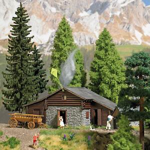 Busch-1444-Alpine-Hut-H0-Building-Kit-1-87