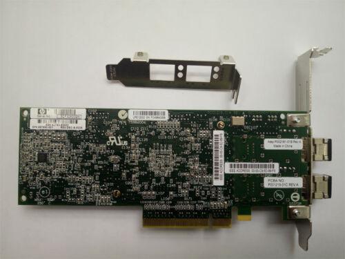 HP AJ763A 489193-001 82E 8Gb Dual Port PCI-e Fibre Channel Host Bus Adapter