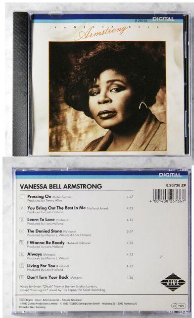 VANESSA BELL ARMSTRONG .. 1987 Teldec Jive CD TOP