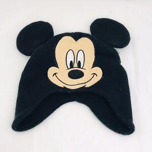 Disney-Juventud-Sombrero-Invierno-Beanie-Un-tamano-las-orejas-de-Mickey-Mouse-Medias-Cap