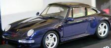 RARE SCHUCO PORSCHE 911 993 CARRERA S METALLIC BLUE 1:43 NEW BOXED 1 OF 500