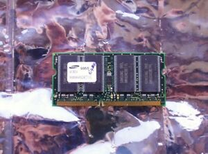 Samsung-64MB-SDR-144pin-SDRAM-SO-DIMM-PC100S-CL2-laptop-system-memory-module