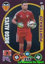 368 DIEGO ALVES BRAZIL VALENCIA.CF PORTERAZO CARD ADRENALYN 2015 PANINI