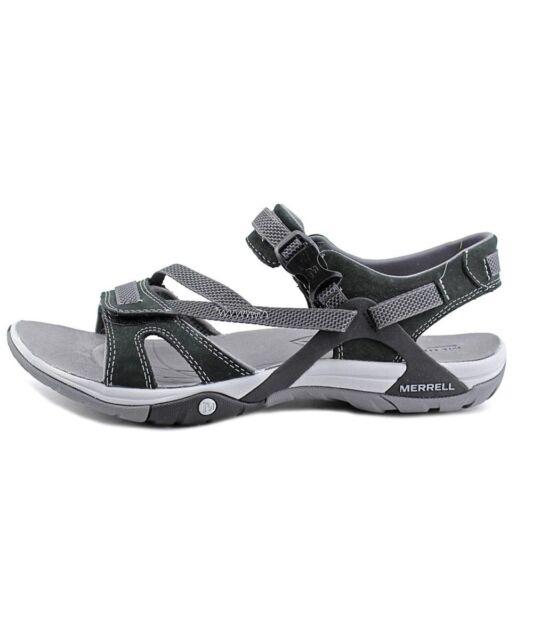 cb492e37d3e7 Merrell Womens Sport Sandal Azura Strap Black J24522 8 for sale online